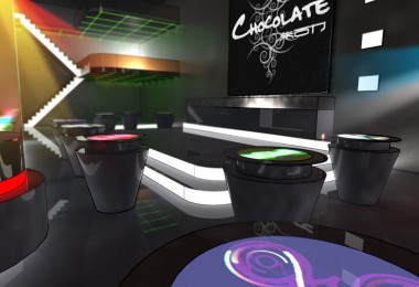 Interactive Bar Surfaces